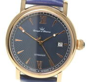 Yonger And Bresson See-through Back Ybh8572-30 Automatic Men's Watch [u0517]