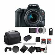 Canon Eos Rebel Sl2 Digital Slr Camera With 18-55mm Lens 2249c002 Bundle With