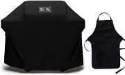 52 Bbq Grill Cover For Weber Spirit 200/300 Series And Genesis Silver A/b Grills