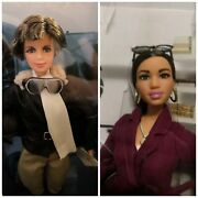 Barbie Style By Chriselle Lim And Amelia Earhart Doll Lot Nrfb Lot
