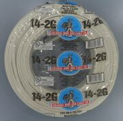 14/2 Romex Indoor Electrical Copper Wire Cable W Ground 14-2 Awg Guage Nm-b 250andrdquo