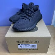 Authentic Adidas Yeezy Boost 350 V2 Black Non-reflective Size 6.5 Fu9006