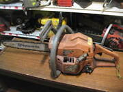 Husqvarna 136 Chainsaw Runs On Sprayed Fuel, Good Cylinder, Cracked Top Cover