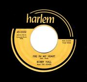 Killer Baltimore Doowop-bobby Hall/kings-fire In My Heart/you Never Knew-harlem