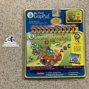 Ui New Leap Frog Pad My First Leappad I Know My Abcand039s Book Cartridge Sealed