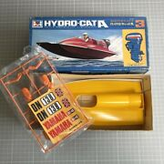 Mitsuwa Hydro-cat A Toy Plastic Kit Boat Without Outboard Motor Rare