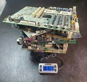 Lot Of Scrap Computer Motherboards For Gold Scrap Metal Recovery - 9lbs 14.8oz