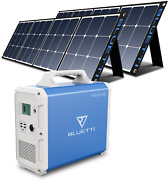 Bluetti Eb240 Portable Power Station 2400wh With 2pcs Solar Panel 120w Lithium