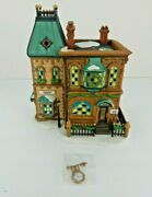 Dept 56 Dickens Village Thomas Mudge Timepieces 58307 Old Store Stock