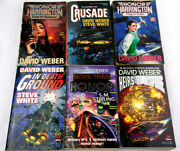 6 Science Fiction Books By David Weber Honor, In Death Ground, Heirs Of Empire