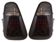 Led Tail Lights Rear Lamps Fits 01-04 Mini Cooper R50 R52 R53 Pre-lci - Smoked