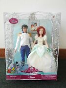 Disney Once Upon A Wedding Ariel And Eric Doll Set Nrfb Store Exclusive