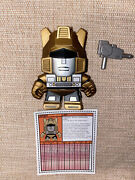 The Loyal Subjects Transformers Action Vinyl Figures Rare Chase Gold Jazz 1/48