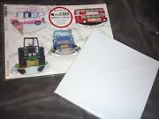 Kanban Rocking Cars Wheels And Bus Card Collection Makes 6 With Envelopes