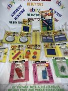 Vintage Five And Dime Store Toy Mind Reader Magic And Adams Mixed Lot-16 Items