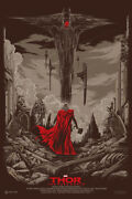 Thor The Dark World Poster - Mondo - Ken Taylor - Limited Edition Of 400