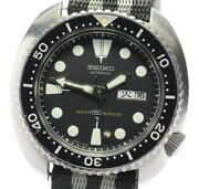 Seiko 3rd Diver 150m Day Date 6306-7001 Automatic Men's From Japan N0519