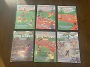 Lot Of 6 Heidi Songs Dvds Sing And Spell Vol 1-6 Education Classroom Complete Set