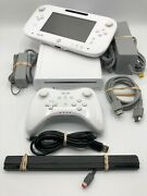 Nintendo Wii U 8gb Console And Gamepad - Complete System Bundle - Pro Controller