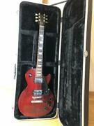 Used Gibson Les Paul Electric Guitar With Zenn Hard Case No Operational Problems