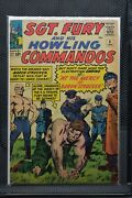Sgt Fury And His Howling Commandos 5 Marvel Silver Age Comics 1964 Stan Lee 5.5