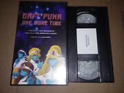 Daft Punk One More Time Promo Vhs Virgin Records Music Video Rare