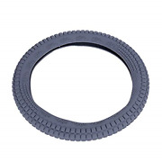 Dongker Car Sterring Wheel Cover 38cm Auto Grip Steering Cover Silicone Wheel