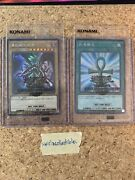 Yugioh 2019 World Championship Promos - Red-eyes And Monster Reborn Sealed Nm 🔥