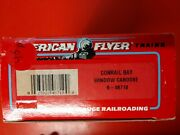 American Flyer Conrail Bay Window Caboose 6-48710 Vintage New In Box 3/16 Scale