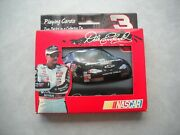 Dale Earnhardt 3 Monte Carlo Embossed Tin Nascar Two Decks Playing Cards Set---