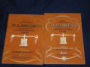 R.l. Miles, Jr Collection Lot Of 2 Coin Auction Catalogues 1968/1969