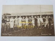 Antique 1905 Hamilton Tigers Rugby Team Rppc Photo Early Canadian Football Rare
