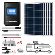 Acopower 8x100w 12v Poly Solar Rv Kits 60a Mppt Charge Controller 800w 60a