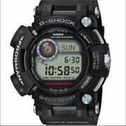 Casio G-shock Frogman Gwf-d1000-1jf Black Menand039s Watch Used From Japan