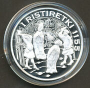 Finland Silver Treasure Collection Coin - First Swedish Crusade 1155 Proof