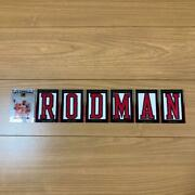 2007 Topps Letter Man Rodman 19-card Limited Sign Card Nba Card
