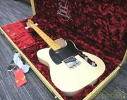 Fender Usa 70th Anny Broadcaster Electric Guitar W/hard Case Free Shipping Jp