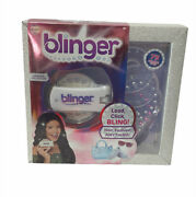 Blinger Glam Styling Tool Diamond Collection Load Click Bling Hair Fashion Nib