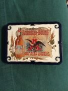 2 Decks Playing Cards Anheuser-busch Bottled Beers In Tin 1988