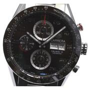 Tag Heuer Carrera Caliber 16 Day Date Cv2a1s Automatic Menand039s Brown Dial [e0521]