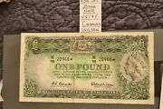 Coombs/wilson Reserve Bank 1961 Star Note One Pound