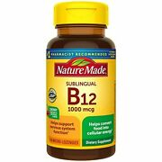 Nature Made Sublingual Vitamin B12 1000 Mcg Micro-lozenges, 150 Count For Metabo