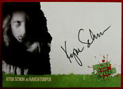 Night Of The Living Dead - Kyra Schon, Karen - Personally Signed Autograph Card