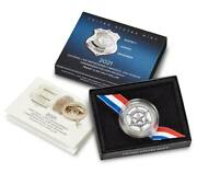 2021 National Law Enforcement Memorial And Museum Proof Clad Half Dollar 21ce
