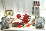 Better Homes Christmas Decoration Lot Angels Bulbs Trees Coasters Vintage Decor