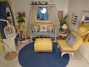 Artist Made 16 Scale Beach Doll Furniture For Barbie And Similar Size Dolls