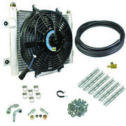 Bd Diesel Bd Xtrude Transmission Cooler With Fan - Complete Kit 1/2in Lines