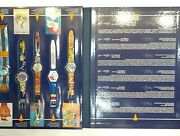 Swatch Set Of 9 Historical Olympic Games Collection Atlanta 1996/2nd Edition
