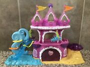 Used My Little Pony Ponyville Ocean Mermaid Castle Play-set. With Accessories.