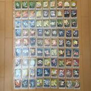 Pokemon Carddass 3rd 4th 153 Sheets Full Comp B10-2